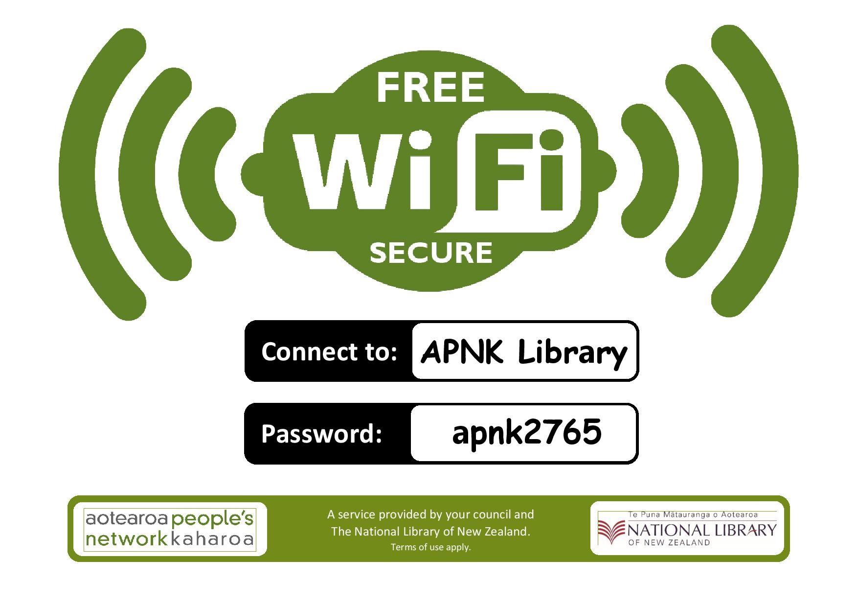 Free Wifi Timaru District Libraries