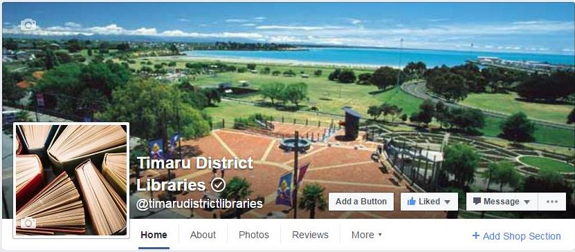 Join us on Facebook and keep up with all the latest happenings at our 3 libraries. image.