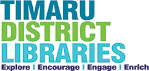 Timaru District Libraries Logo.