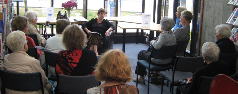 Image of Friends of the Library Meeting with guest speaker Lee Keeley